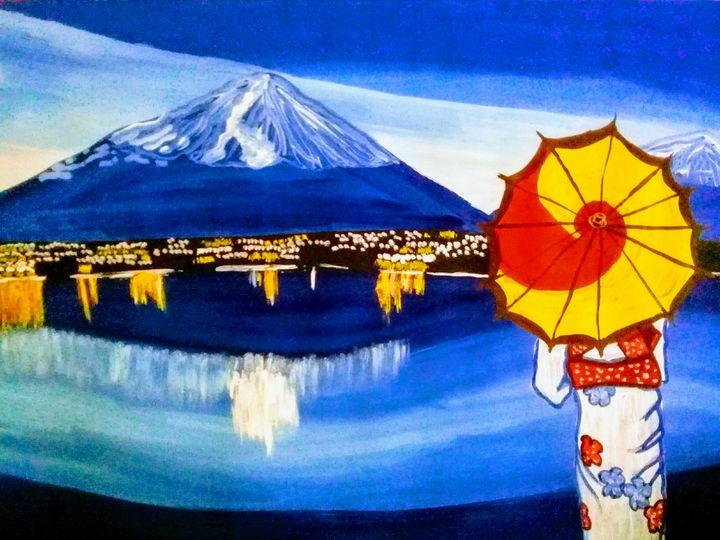 AN EVENING IN JAPAN - LJG ART STUDIO