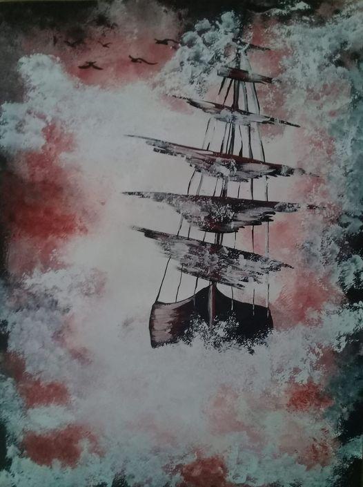 THE SHIP - LJG ART STUDIO