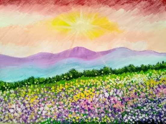 HEAVENLY GARDEN - LJG ART STUDIO