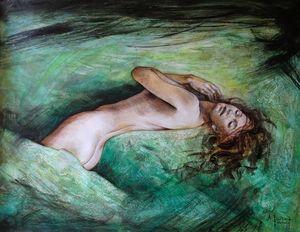 Emerald inlay - Alexandre Barbera-Ivanoff