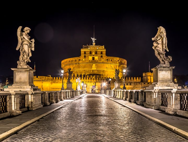 Rome by night - Sant'angelo Castle - Paolo Modena