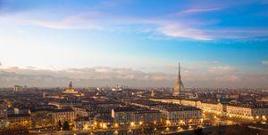 Turin, Italy. Panorama.