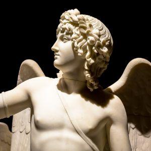 Cupid Triumphant - Bertel Thorvaldse - Paolo Modena