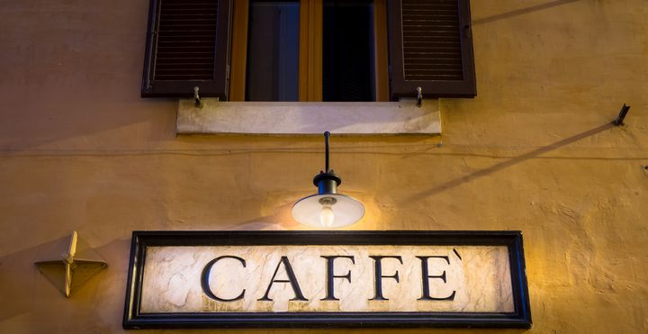 Coffee sign in retro style - Italy - Paolo Modena