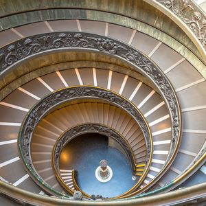 Vatican famous spiral staircase