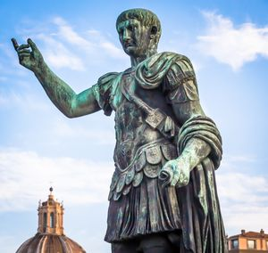 Statue of Caesar Emperor in Rome