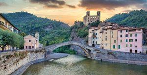 Dolceacqua ancient castle, Italy