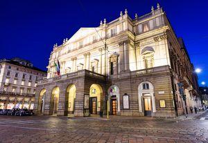 Theatre La Scala in Milan, Italy