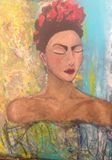 Original Painting inspired by Frida