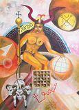 SAMAEL, oil on canavas, 50 x 70 cm.