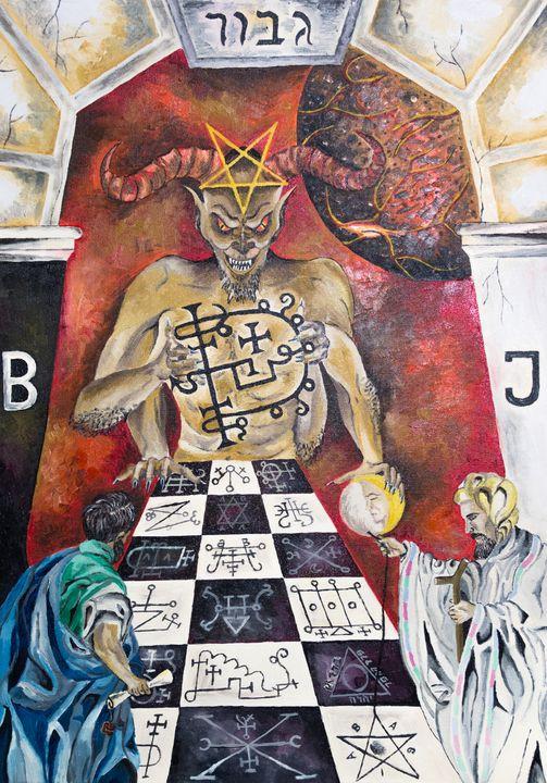 Asmoday's Temple - Dragos Bagia