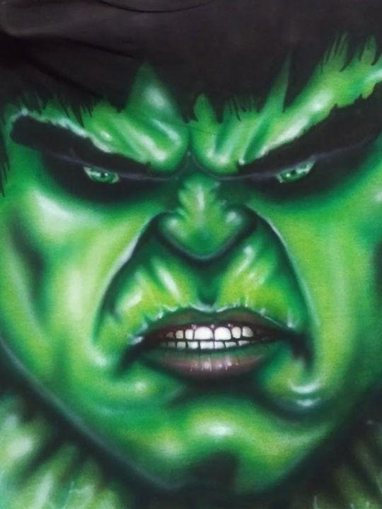 Hulk - Madboxer Art