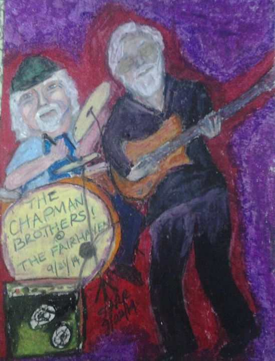 The Chapman Brothers - Art by Suzanne Carr