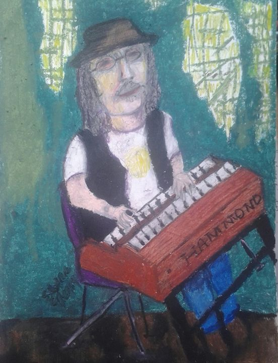 Jeffrey Morgan @ Stanwood Hotel - Art by Suzanne Carr
