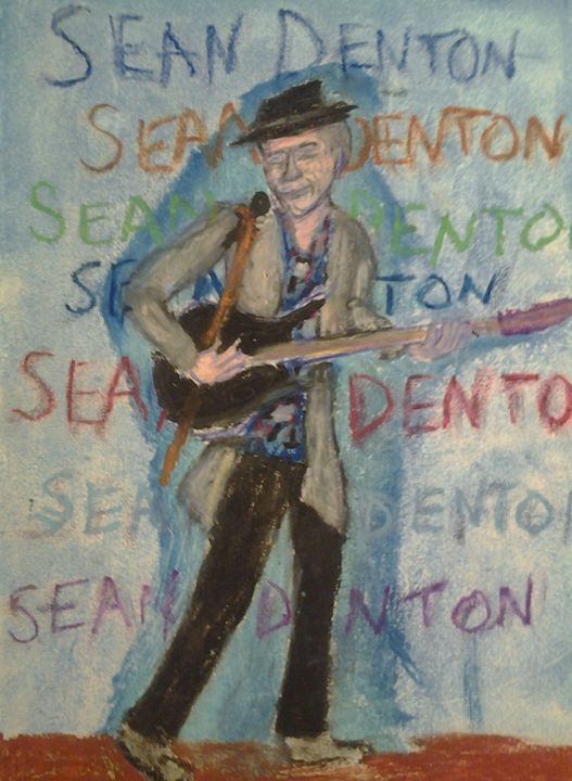 Sean Denton - original or prints - Art by Suzanne Carr