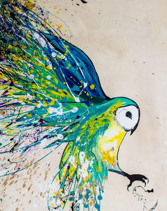 The Colorful Owl - Rachel Joy Studios