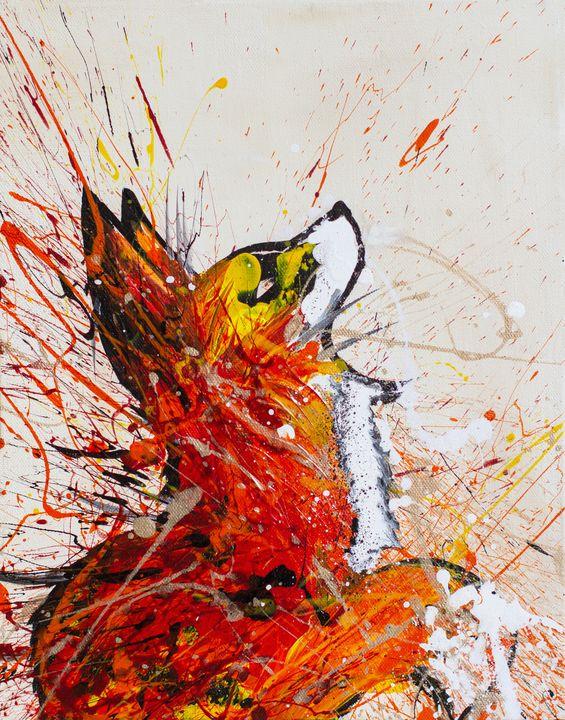 The Colorful Fox - Rachel Joy Studios