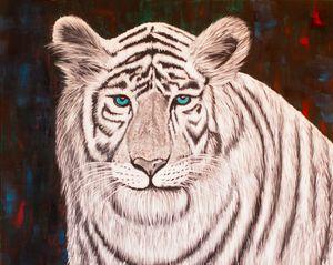 Compassionate White Tiger