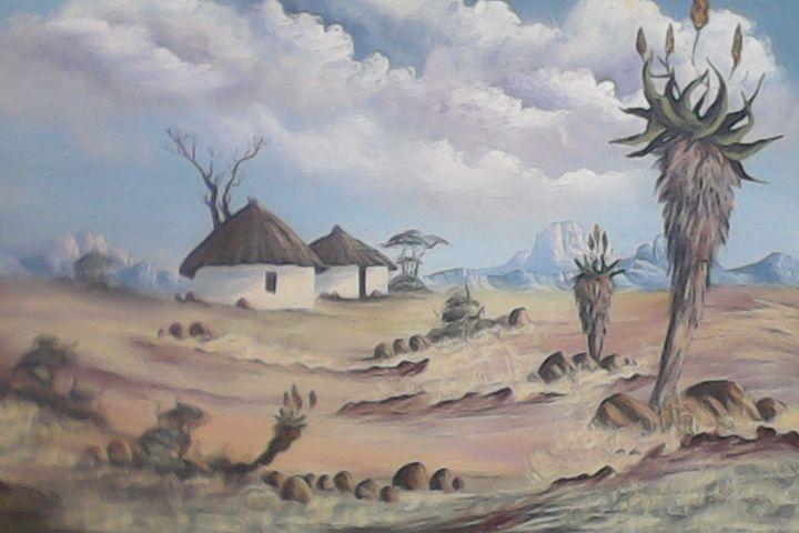 wintertime in kwazulu natal - African art hub