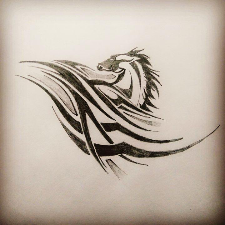 Horse Tattoo - Aakash dagar