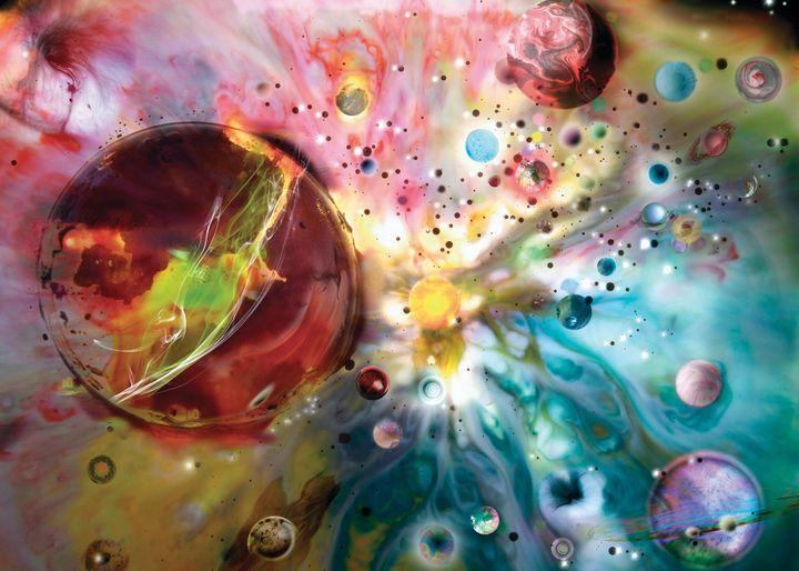 Imaginary Galaxy - Roger Dorey