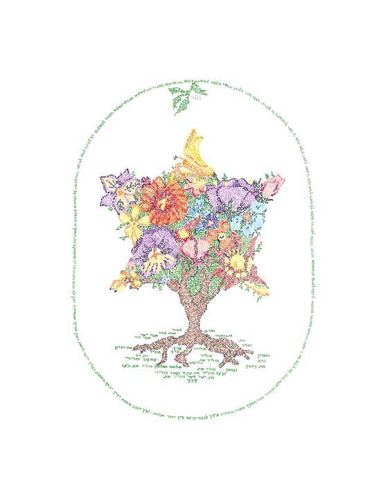 Tree of Life - Book of Ruth - Ellen Miller Braun