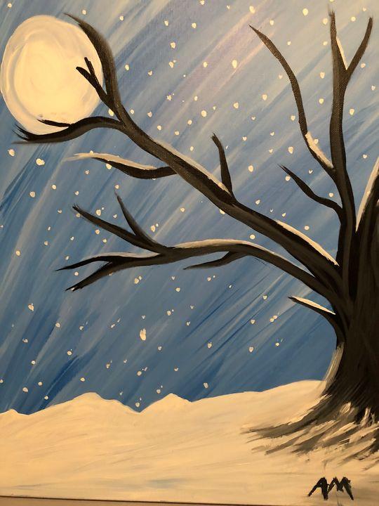 Snowy Night - Alana