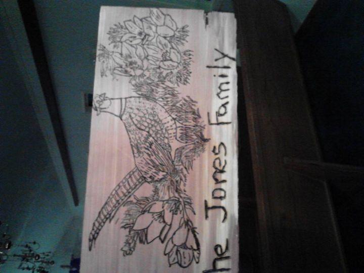 family plaque - Lolita Bunny