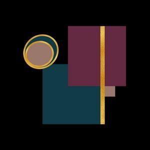 Geometric Artwork, Squares, Circles
