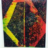 abstract expressionism, gestural mar