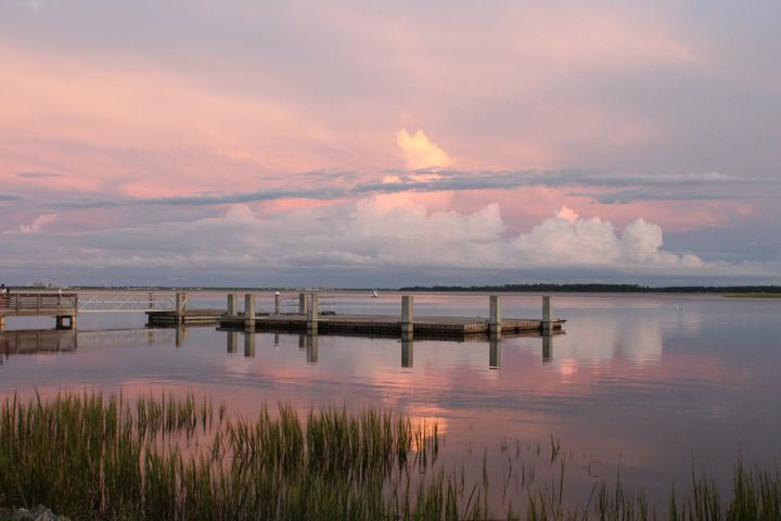 Saltwater Sunset 2 - Southern Grace Photography