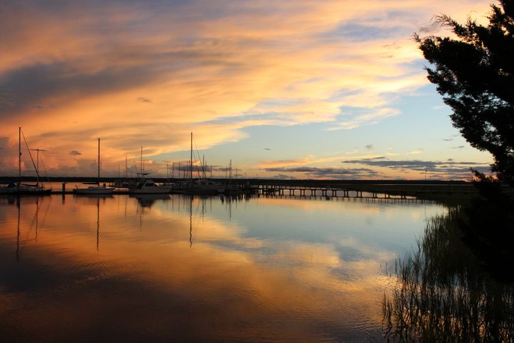 Saltwater Sunset 3 - Southern Grace Photography