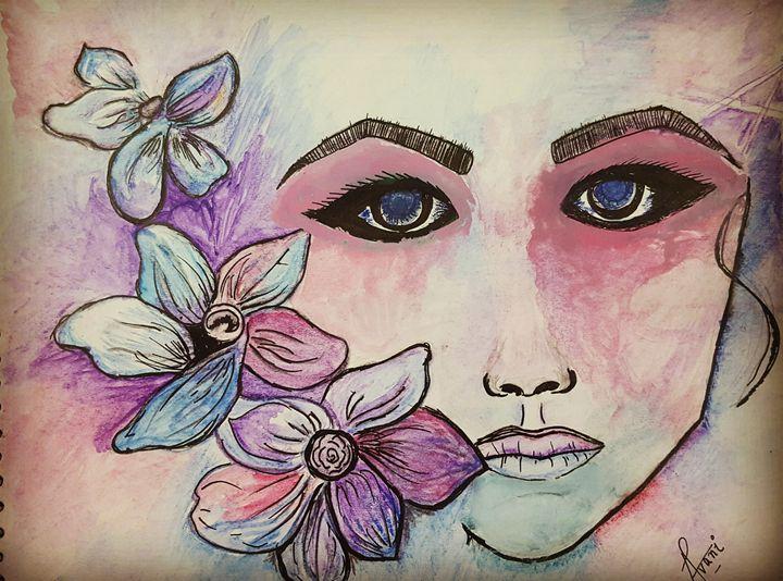 BEAUTY IN DISTRESS. - Avani's work