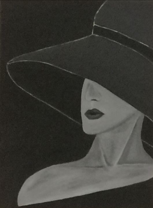 Elegant woman - smALLVictoriesArt