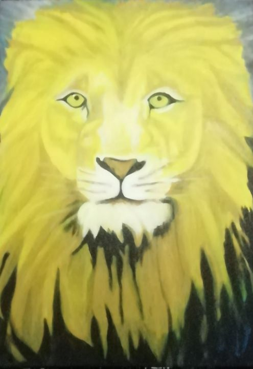 Lion - smALLVictoriesArt