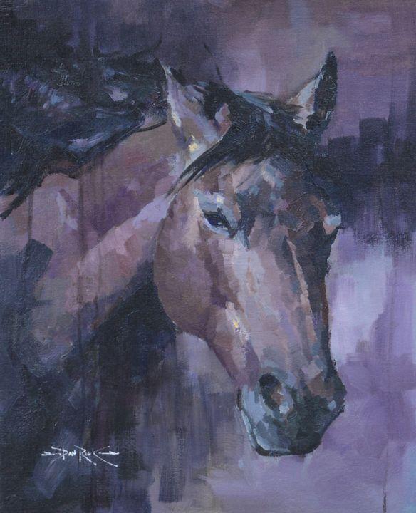 lavender night - daniel rick