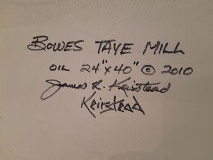 James Keirstead original oil paiting