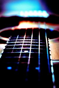 Fret board perspective photography