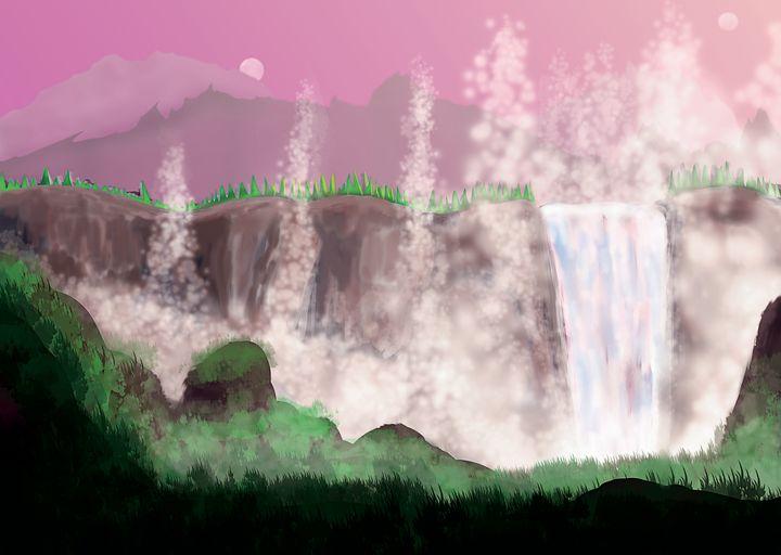 Exoplanet Waterfall - Justin Cobb
