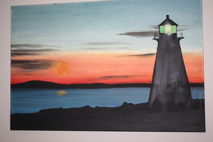 Peggy's Cove at Dusk - Scotian Ocean Art