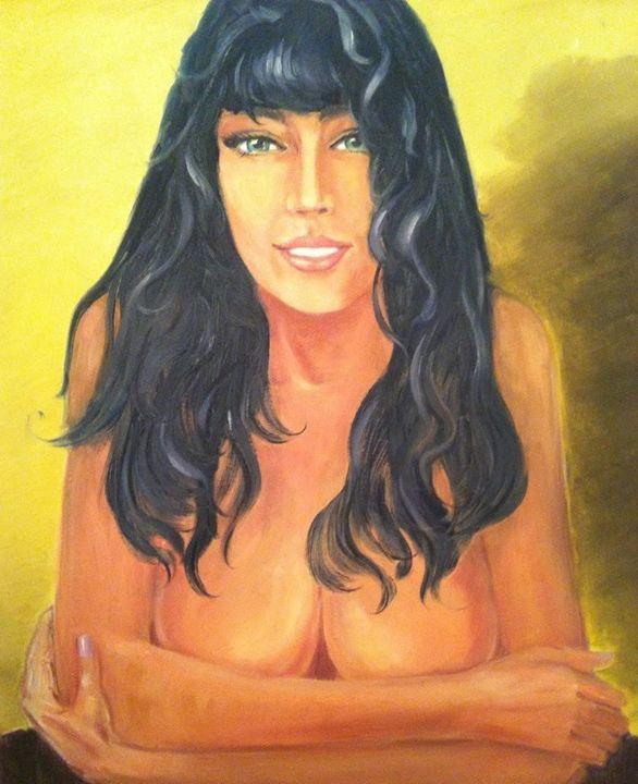 Oil on canvas board - Romanian Art