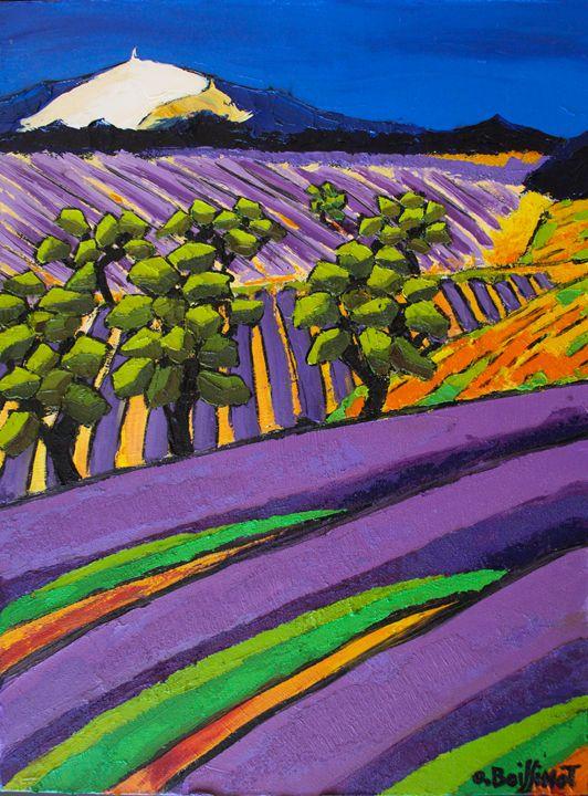 Provence Mont Ventoux - O.BOISSINOT