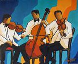 Classical blue trio