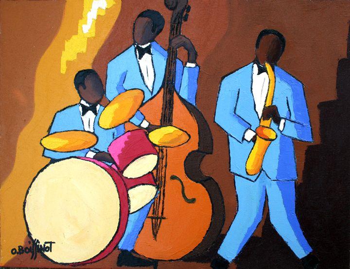 Jazz blue trio - O.BOISSINOT