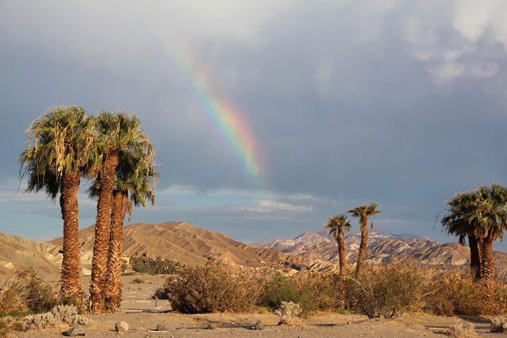 Rainbow in death valley - O.BOISSINOT