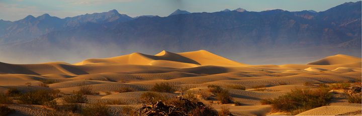 Dunes in death valley - O.BOISSINOT