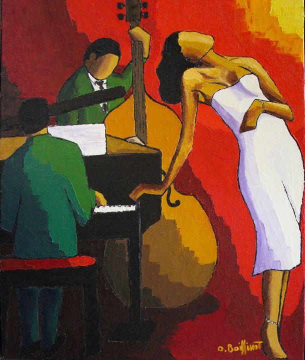 Jazz white dress II - O.BOISSINOT
