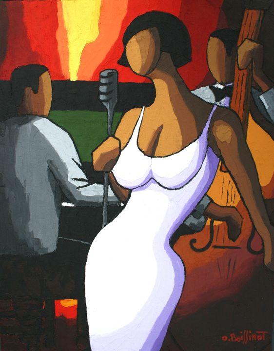 Jazz white dress - O.BOISSINOT