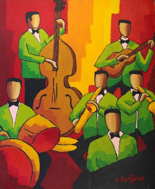Jazz green orchestra - O.BOISSINOT