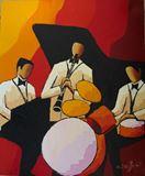Jazz red trio